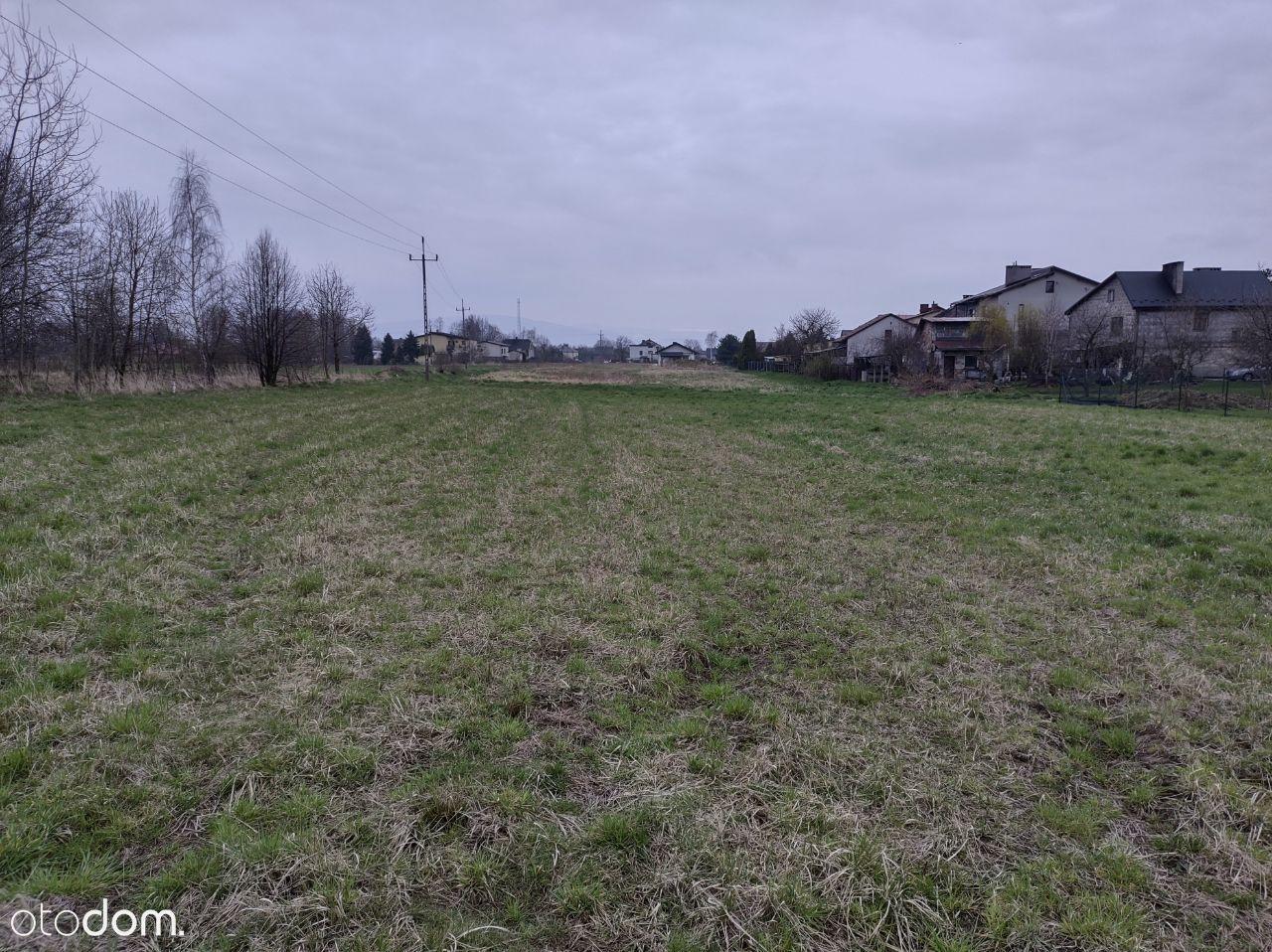 Działka budowlana Nowa Wieś, Gmina Kęty 18a.