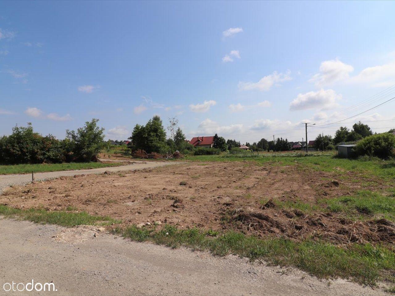 Działka z warunkami zabudowy 8,58 ar Mogielnica