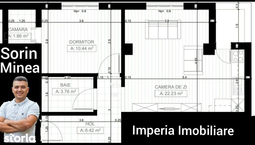 Apartament 2 camere etaj 2/5 Brazda Bloc Nou
