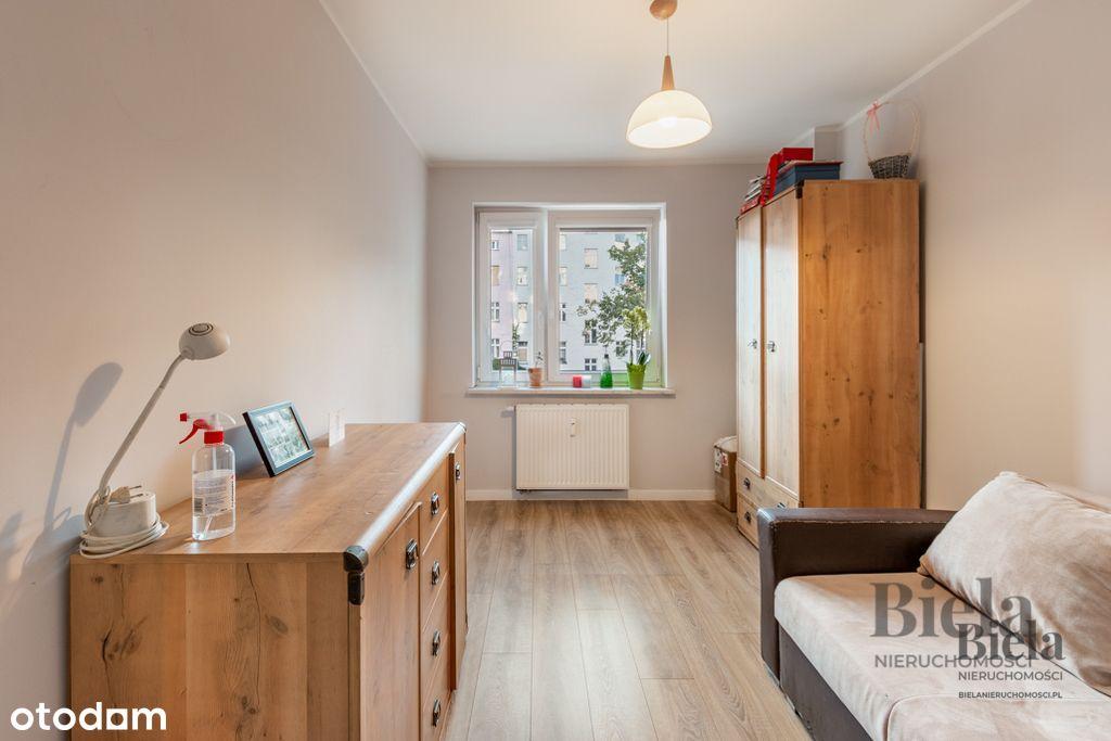 Mieszkanie 3 pokoje 61,8 m2 + balkon - Nadodrze