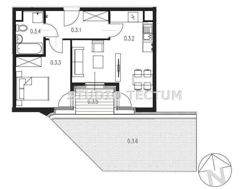 Ruczaj 2pok.ogródek, garaż,oddanie IV kw 2022