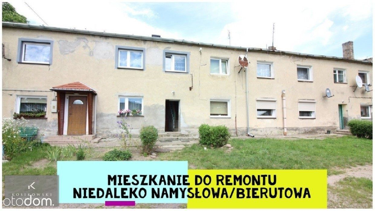Bezczynszowe mieszkanie o pow. 31,41m2 Barski Dwór