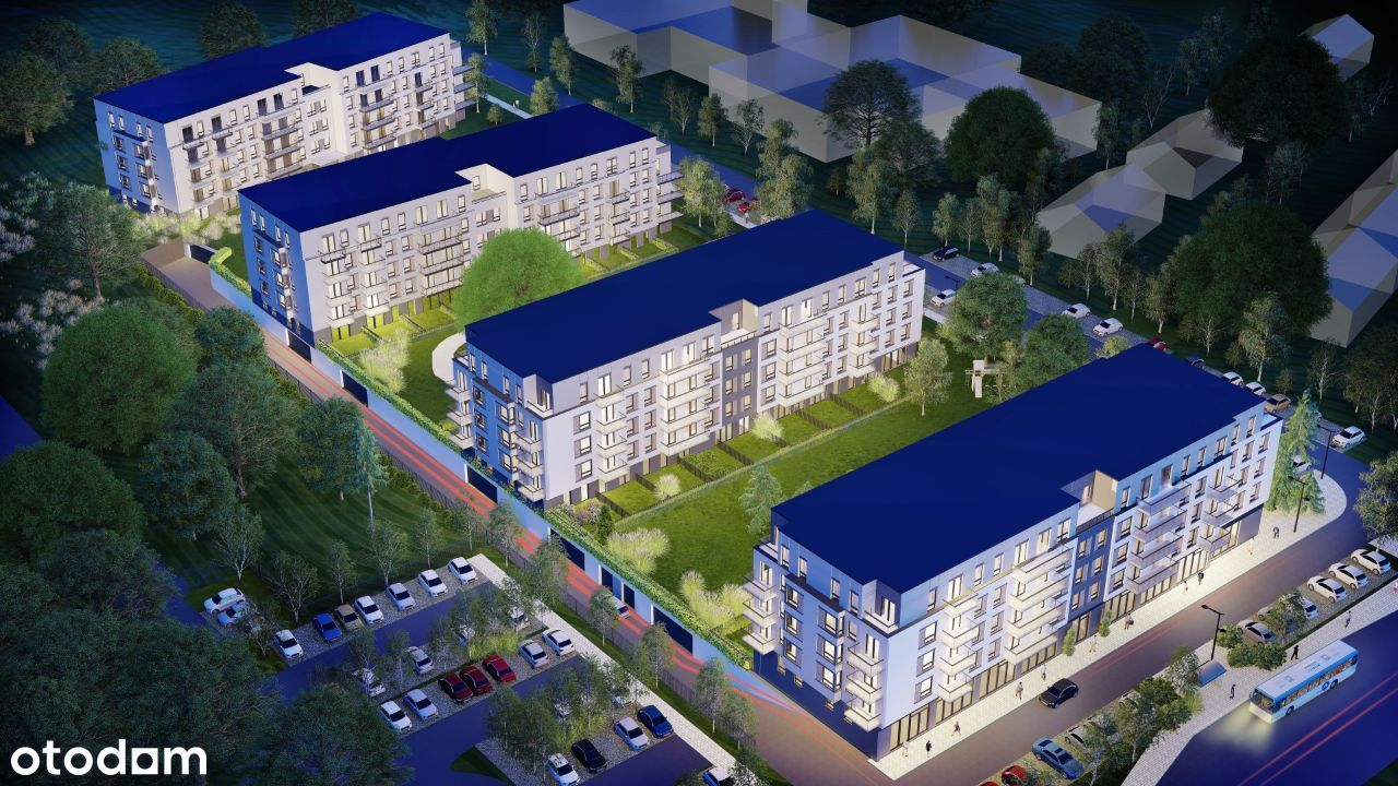 Osiedle Pileckiego mieszkania od 32m2 do 77m2