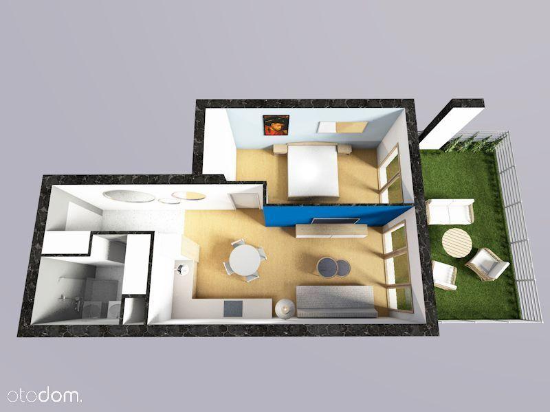 Przestronne 2 pokoje, ciche, garaż, ogródek.