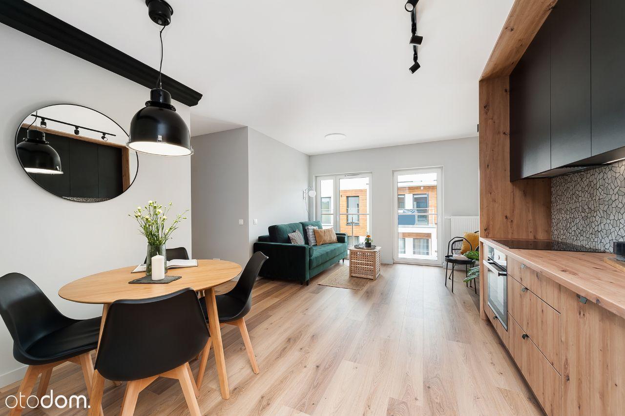3 pokoje, 2 balkony, 2 miejsca postojowe