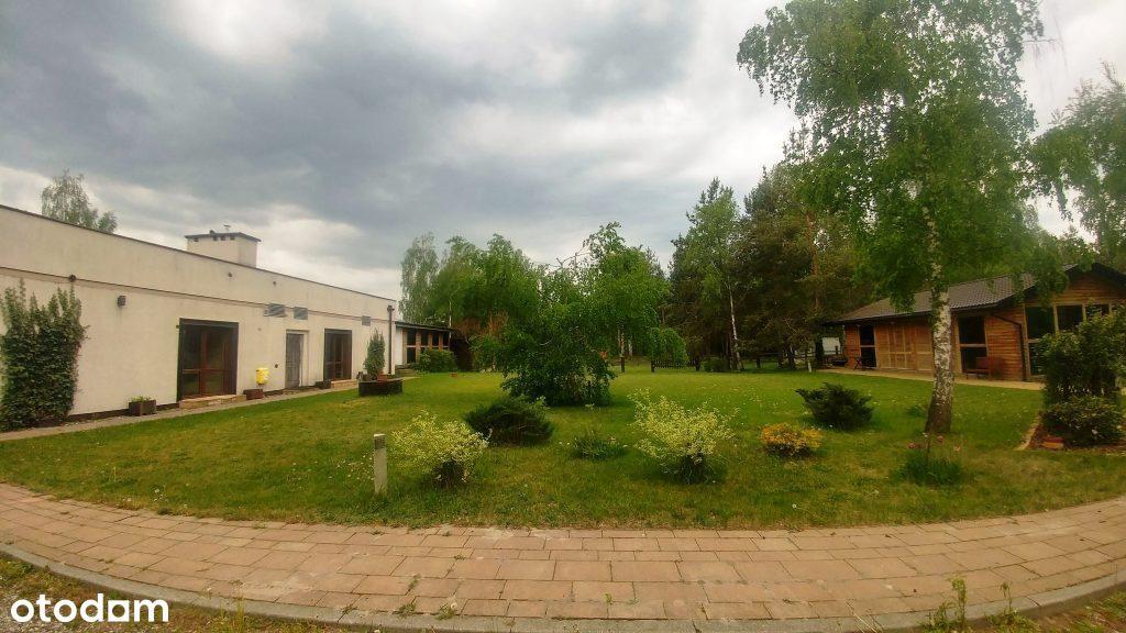 Dom biesiadny 290mk z ogrodem przy Parku Chojnowsk