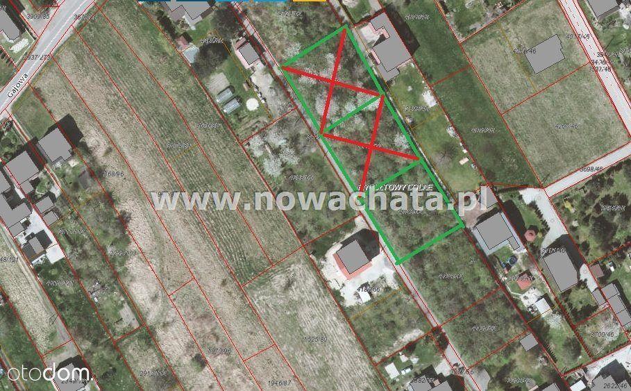 Znakomite działki budowlane - ul. Gajowa - 804 m2