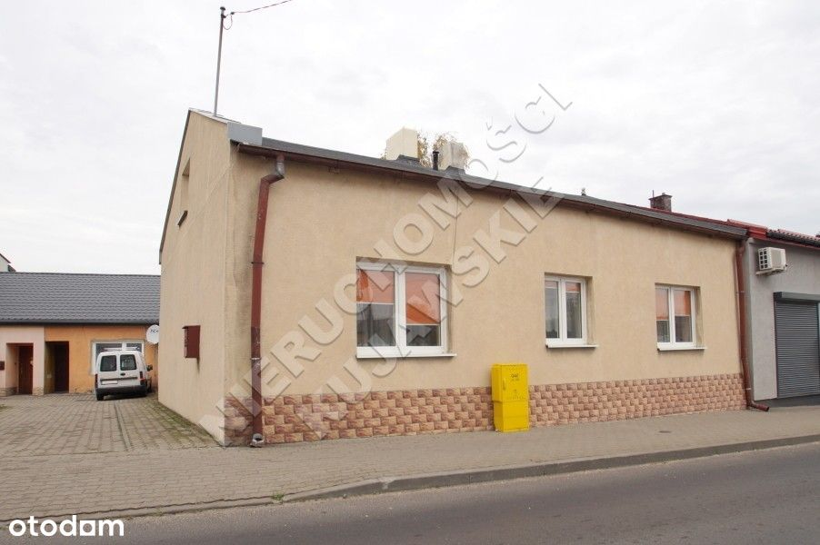 Dom 95m2, budynek gosp., działka 340m2, Lubaniec