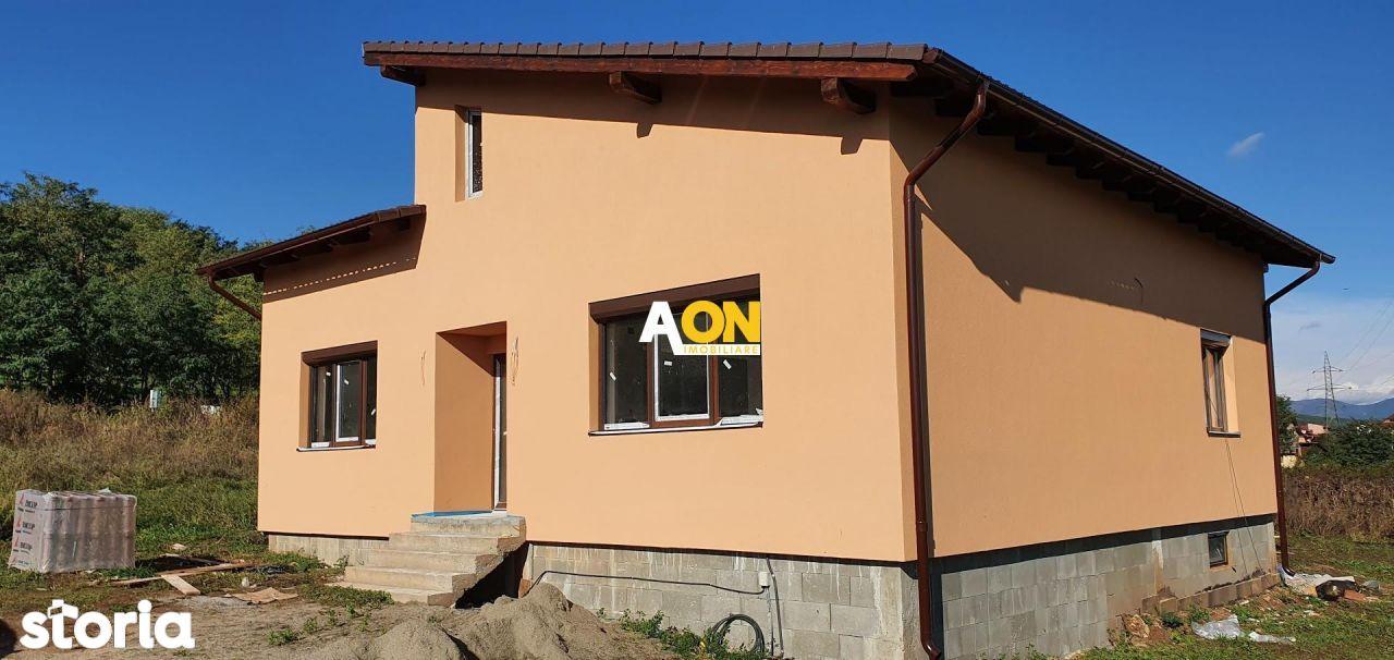 Casa 3 camere, cu predare la cheie, 1000 mp teren, zona Valea Popii