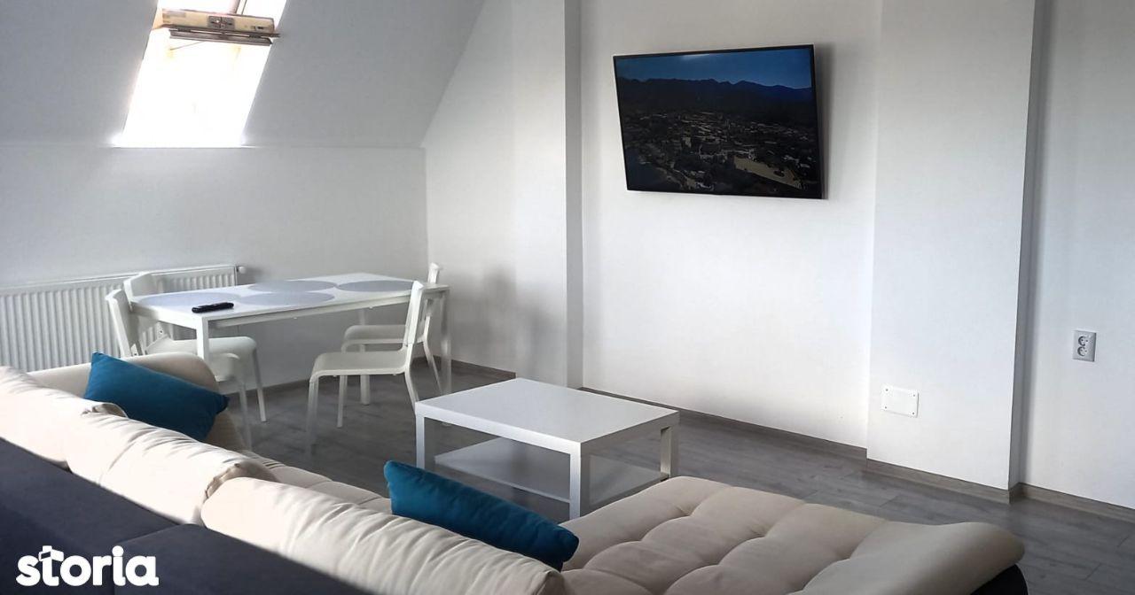 Apartament cu 3 camere în Tractorul - Penthouse cod 8501