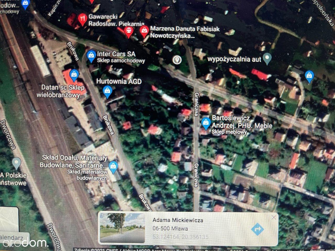 Działka-Usługowo-Mieszkalna-Super Lokalizacja-