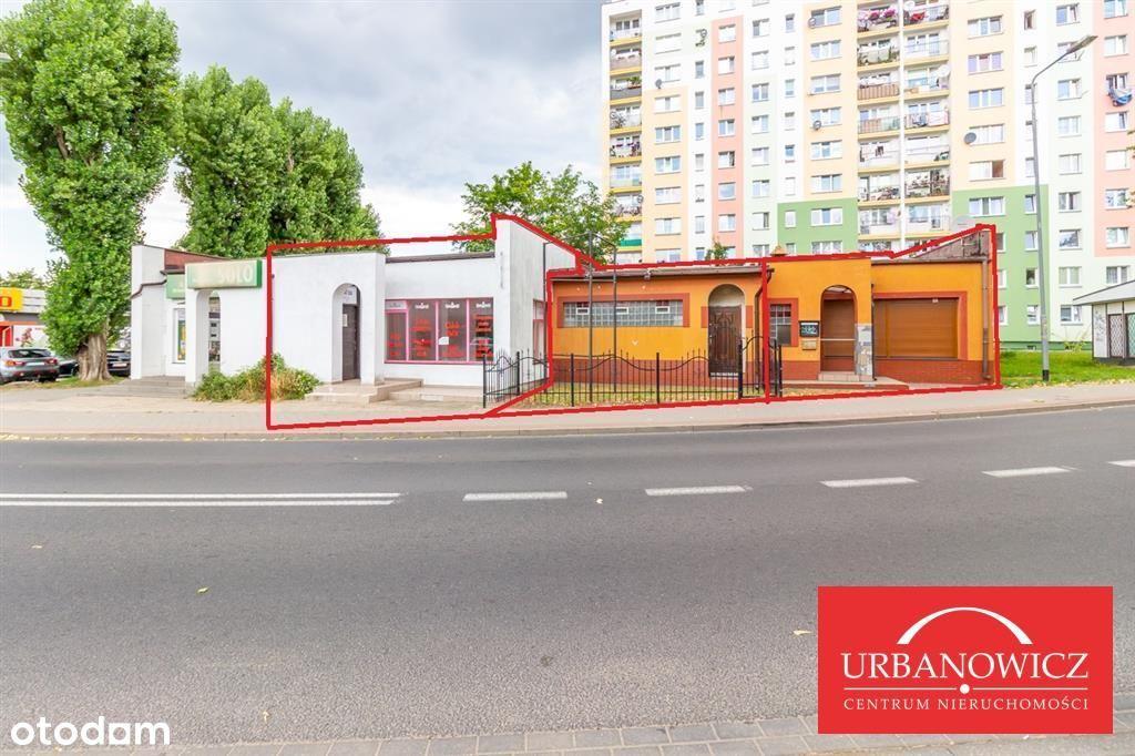 Lokal użytkowy przy ul. Kwiatkowskiego 21.