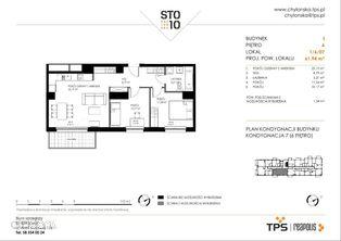 Mieszkanie, 61,94 m², Gdynia