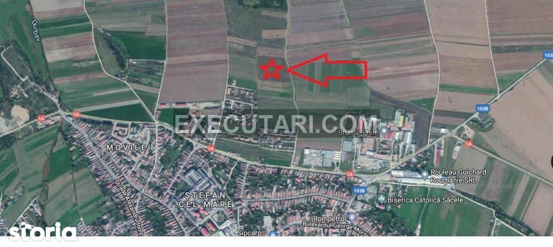 Teren intravilan - 1.700m², Sacele|Licitatie publica