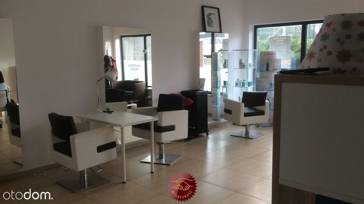 Działający Salon Fryzjersko-Kosmetyczny,odstępne