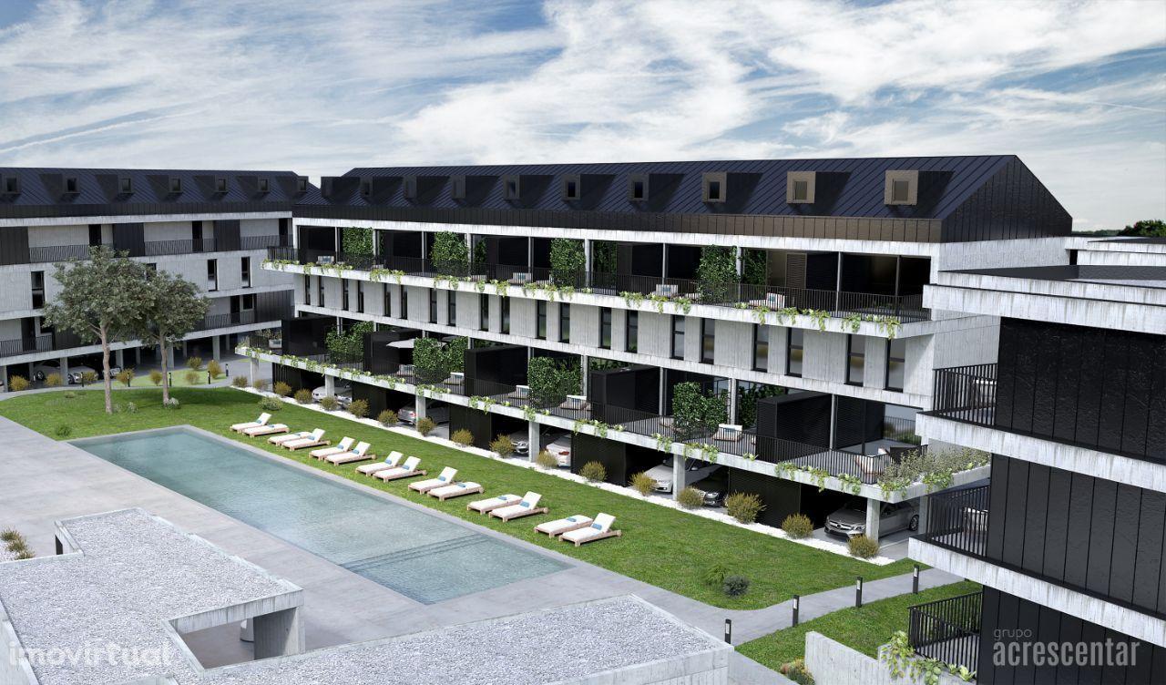 Apartamentos T1 Novos em Condomínio de luxo - Ofir