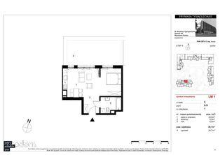 Mieszkanie 1-pokojowe w inwestycji Vis a Vis Wola