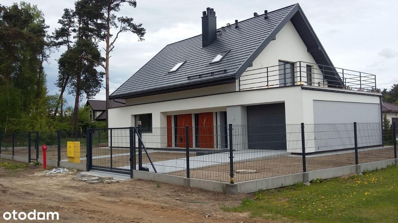 Nowoczesny dom na przedmieściach Łodzi