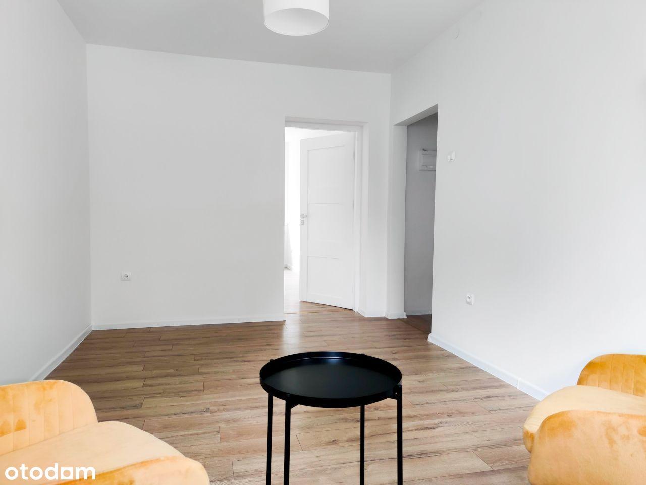 Mieszkanie 38 m2, 2 pokoje, parter + piwnica