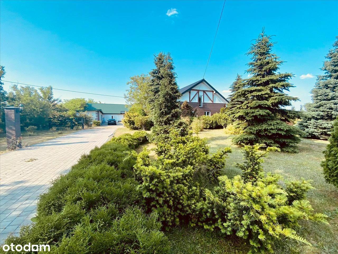 Na sprzedaż, luksusowy dom z ogrodem Złotniki