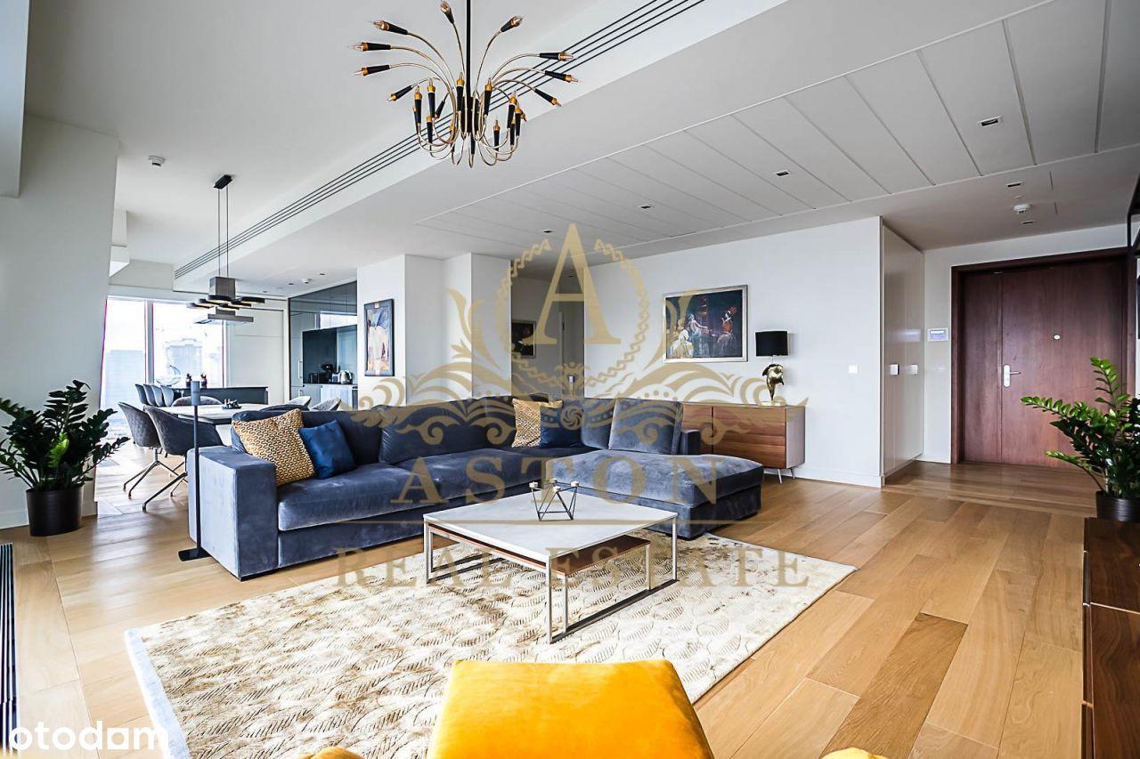 New 3-bedroom apartment on 25th floor on Złota 44