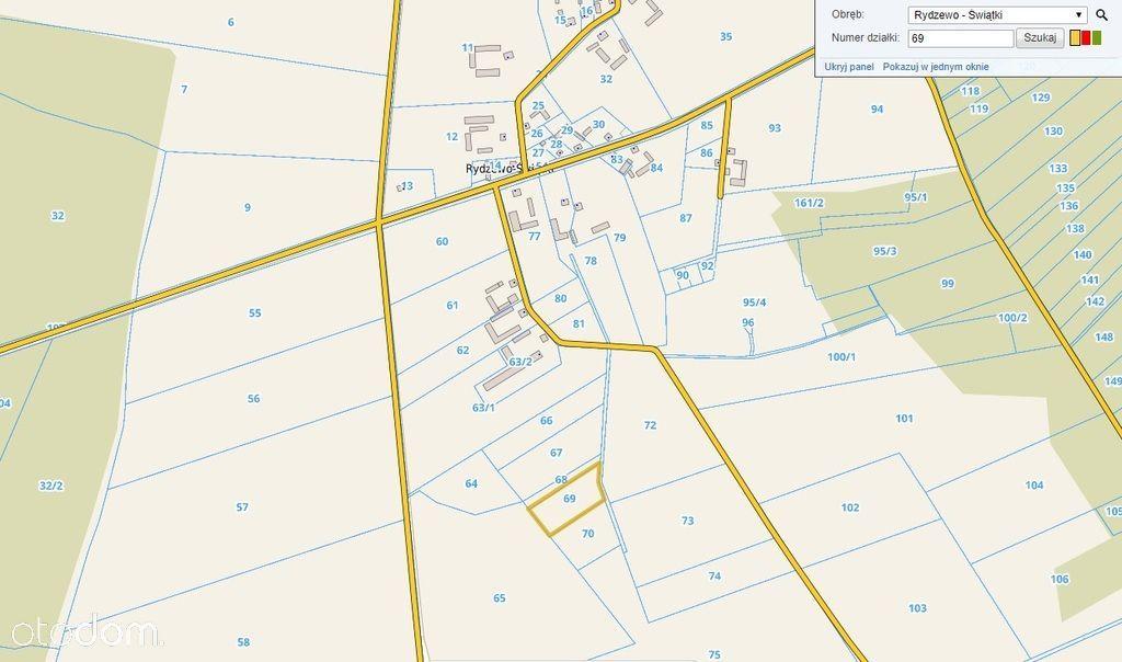 Działka, 7 555 m², Rydzewo-Świątki