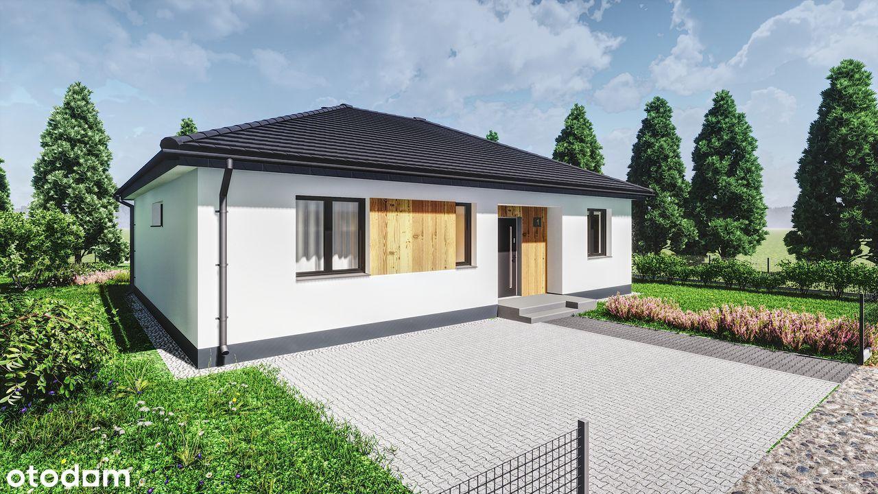 NOWE OBORZYSKA dom z ogrodem 90,25m2!!!