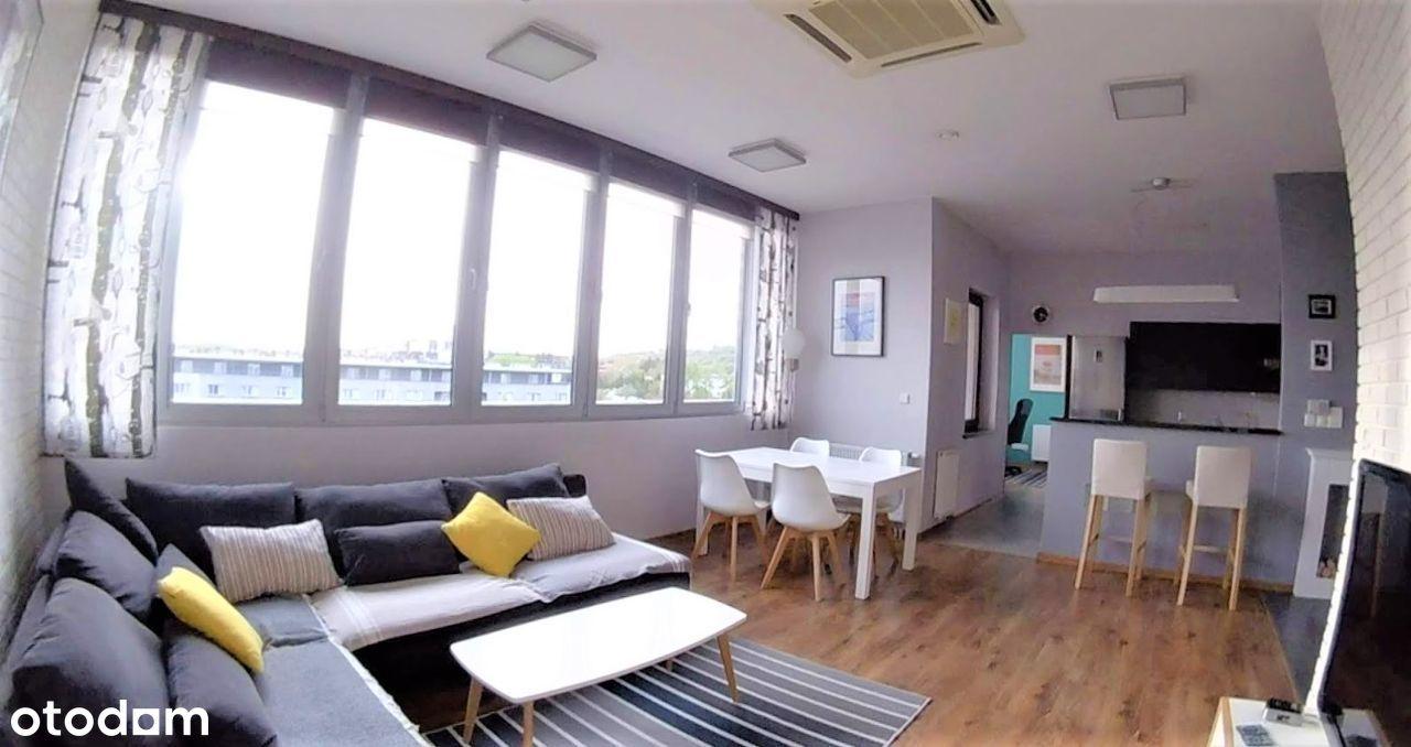 Ponadprzeciętne duże 2-pokojowe mieszkanie