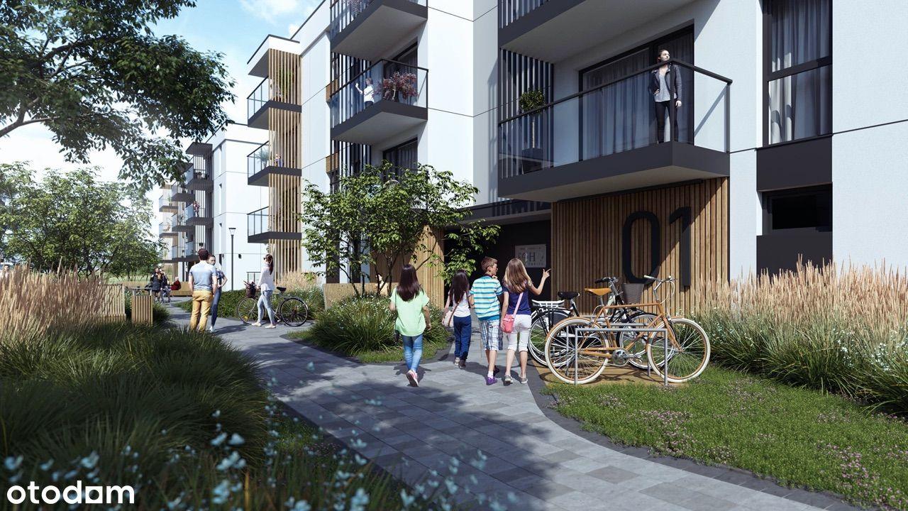 mieszkanie 49,22m2 OGRODY SOHO II Etap 3-Pokoje