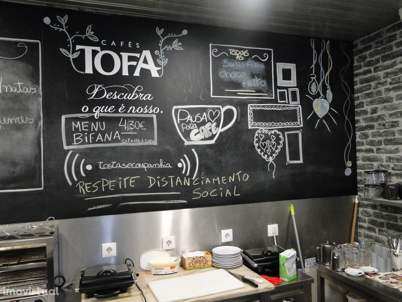 Oportunidade Trespasse Pastelaria/Restaurante Paivas, Seixal