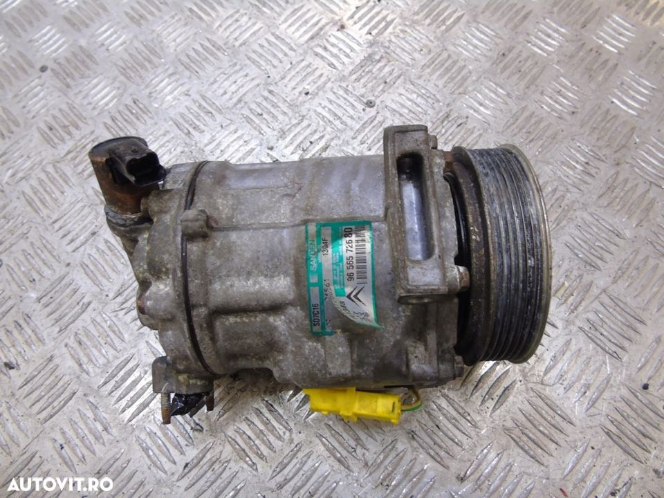 Compresor Aer Conditionat 9656572680 Peugeot 607 2.0 hDI 136 CP 100 kw 2004 - 2009 - 2