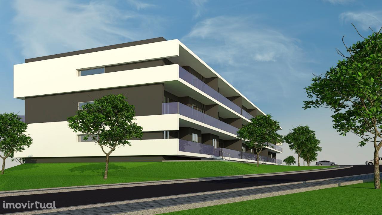 Apartamento T3 em fase de acabamentos a 5 minutos do centro de Braga.