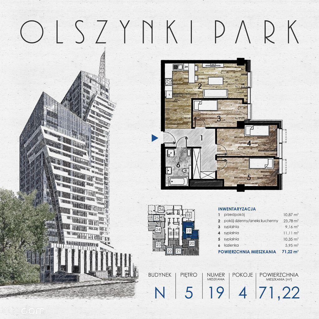 Olszynki Park - Apartament N19