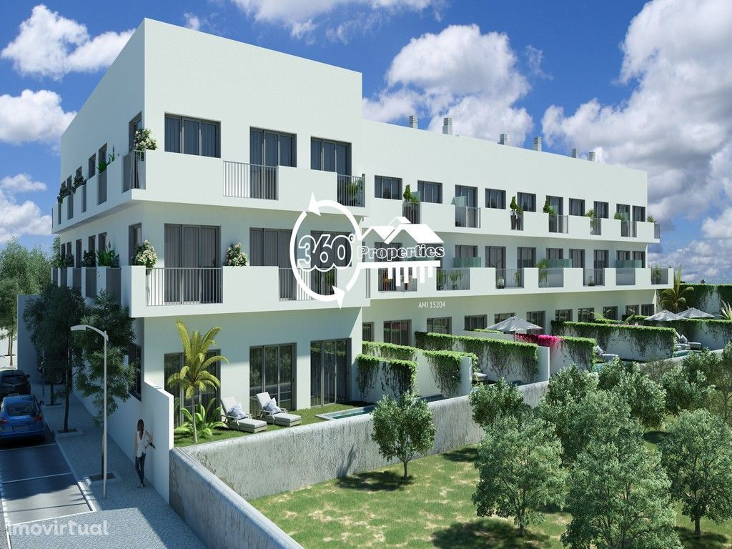 Apartamento T3+1 com jardim e piscina - Tavira