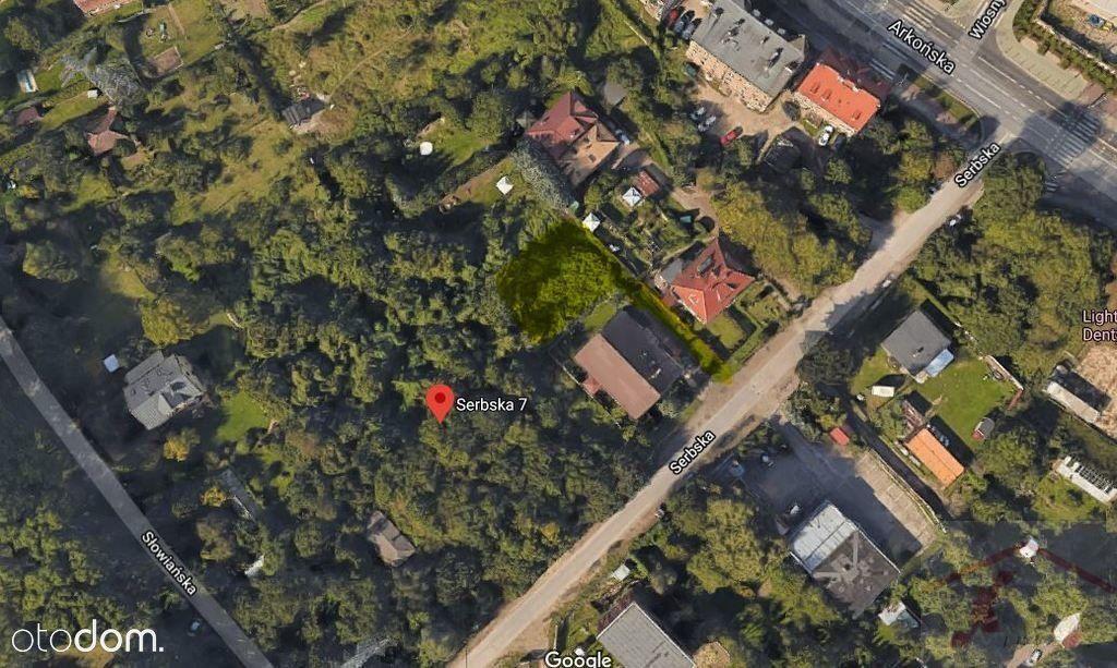 Działka, 772 m², Szczecin