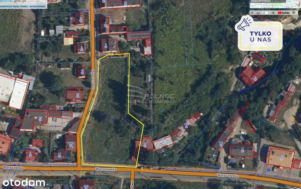 Działka 2560 m2, Zakroczym - wynajem/dzierżawa