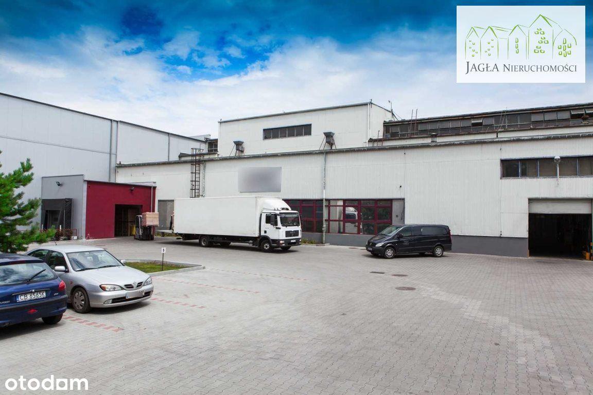 Hala+budynek produkcyjno-biurowy 3000m2 Czyżkówko