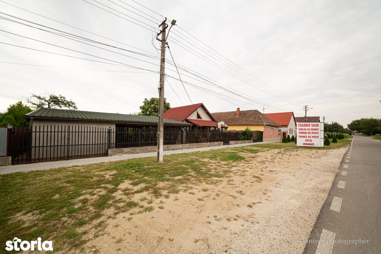 Casa Zimandcuz + Restaurant/local cu terasa de vânzare!!!