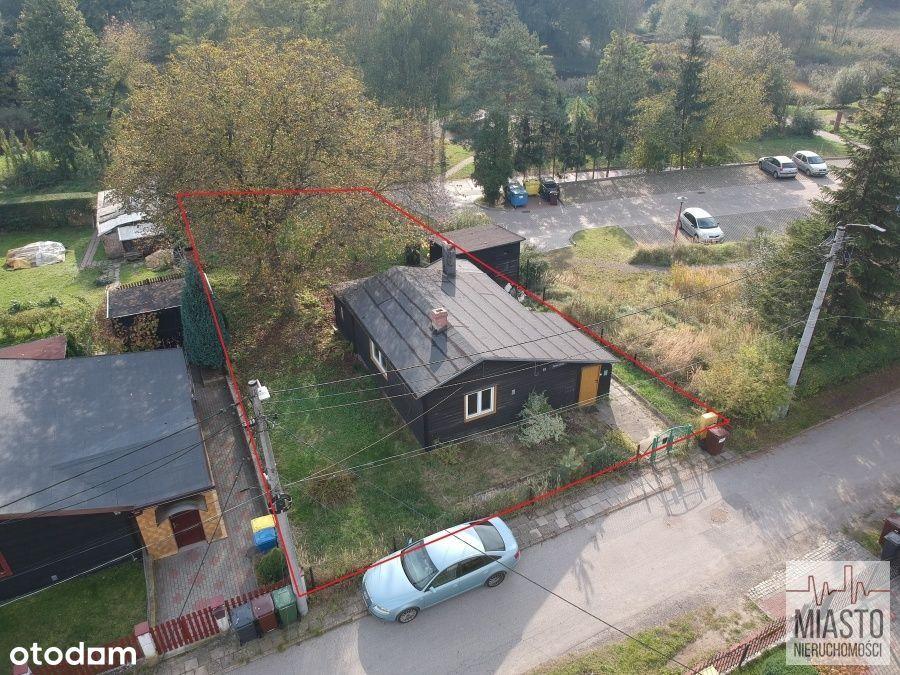 Dom z działką w sąsiedztwie Parku A. Mickiewicza