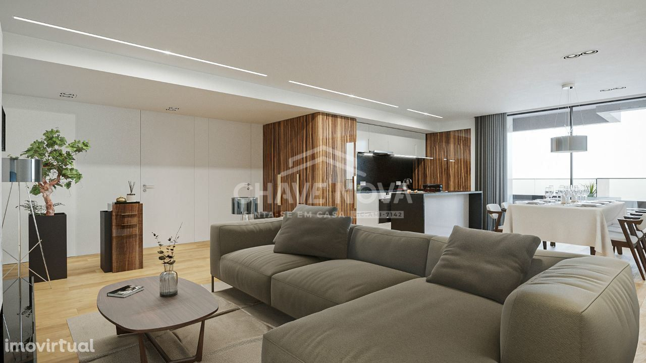 Apartamento T2 c/ varanda - V.N.Gaia, a 500 metros El Corte Inglês