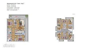 Apartament 3 camere Pipera-imobil boutique lux comision 0%.DEZVOLTATOR