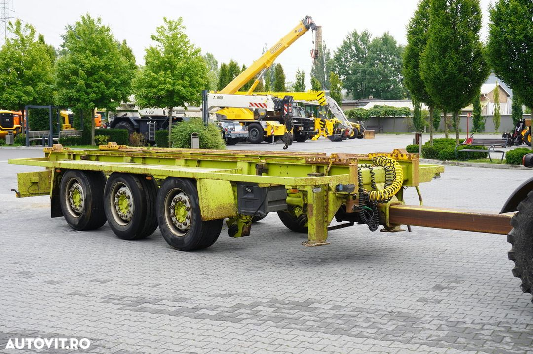Krone Truckmate 3 axles , Roll-of tipper , 7m - 5