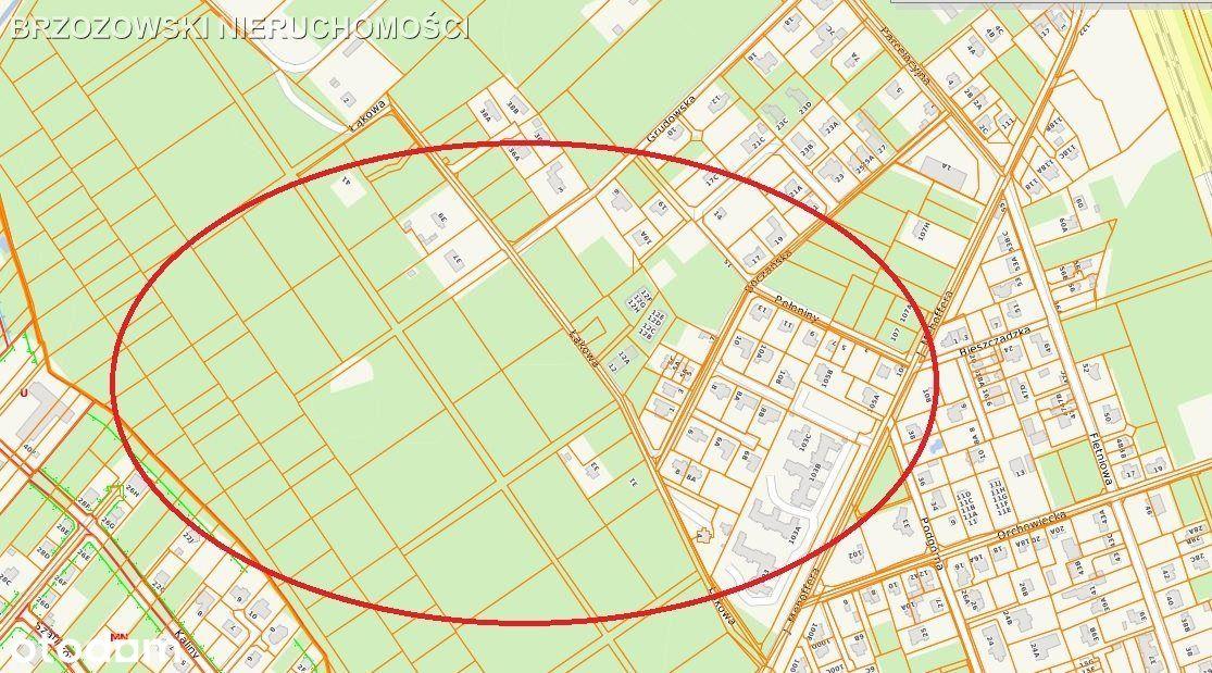 Białołęka, działka 5850 m2, Choszczówka blisko las