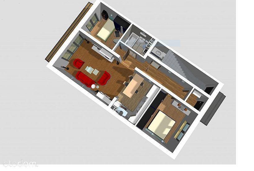 Wyjątkowy apartament 3 pokoje z ogródkiem 70m2!