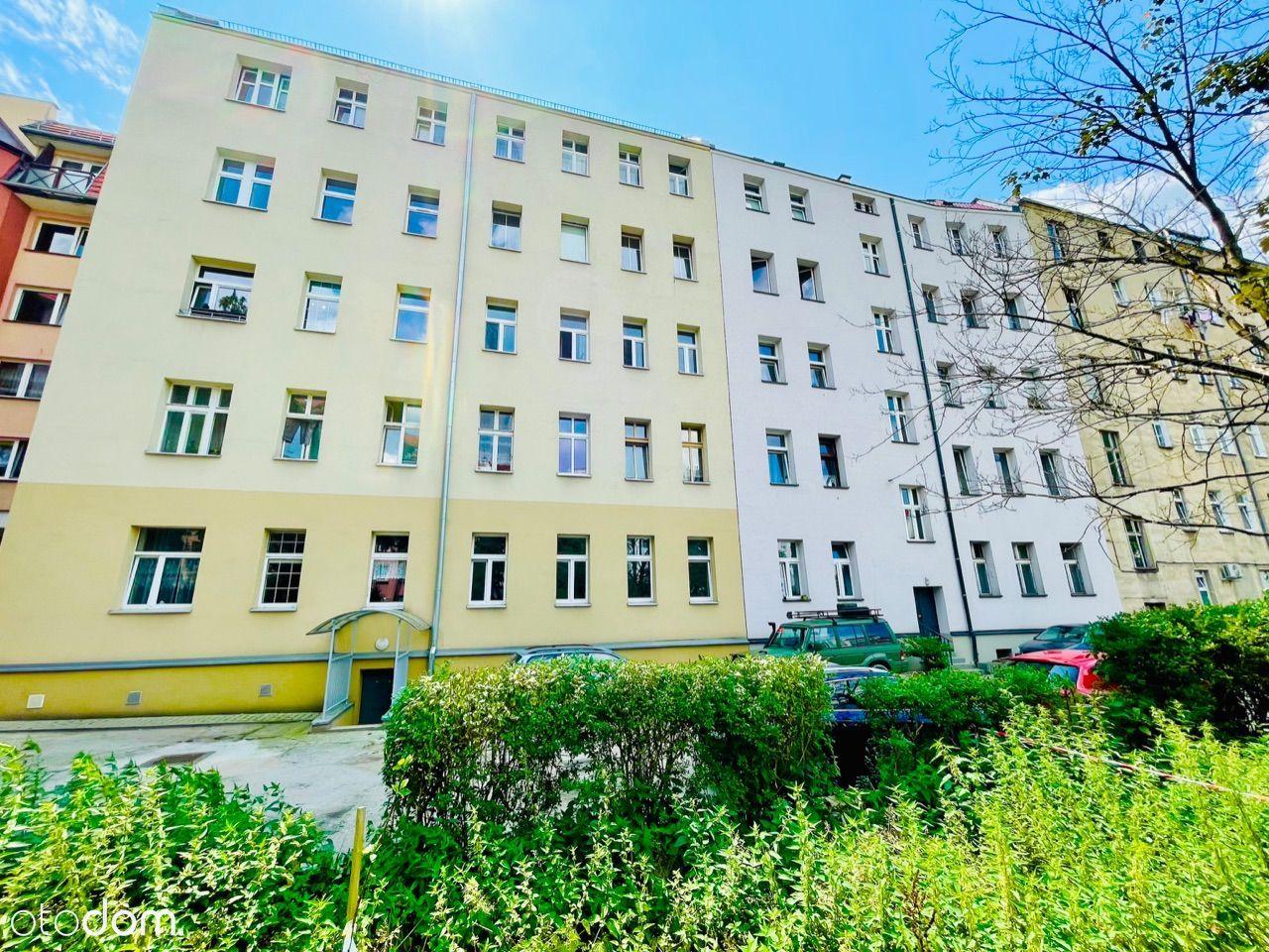 ! Mieszkanie Wrocław Centrum 100 mkw BEZ PROWIZJI!
