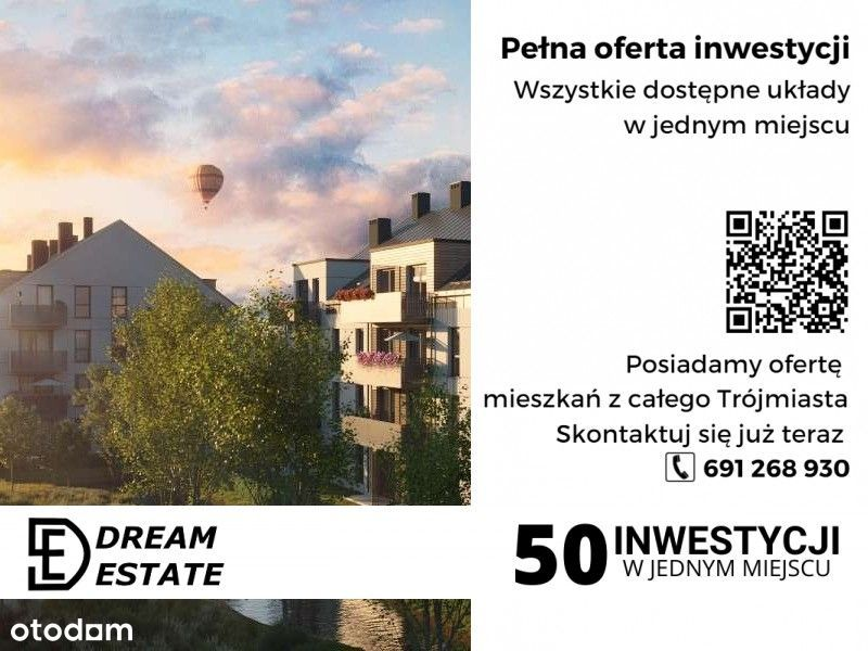 Mieszkanie dwupokojowe na nowym osiedlu - Zobacz!