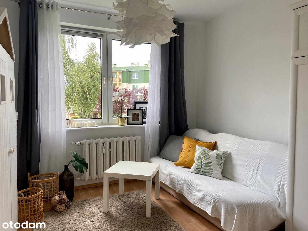 Przestronne dwa pokoje na osiedlu Bukowym