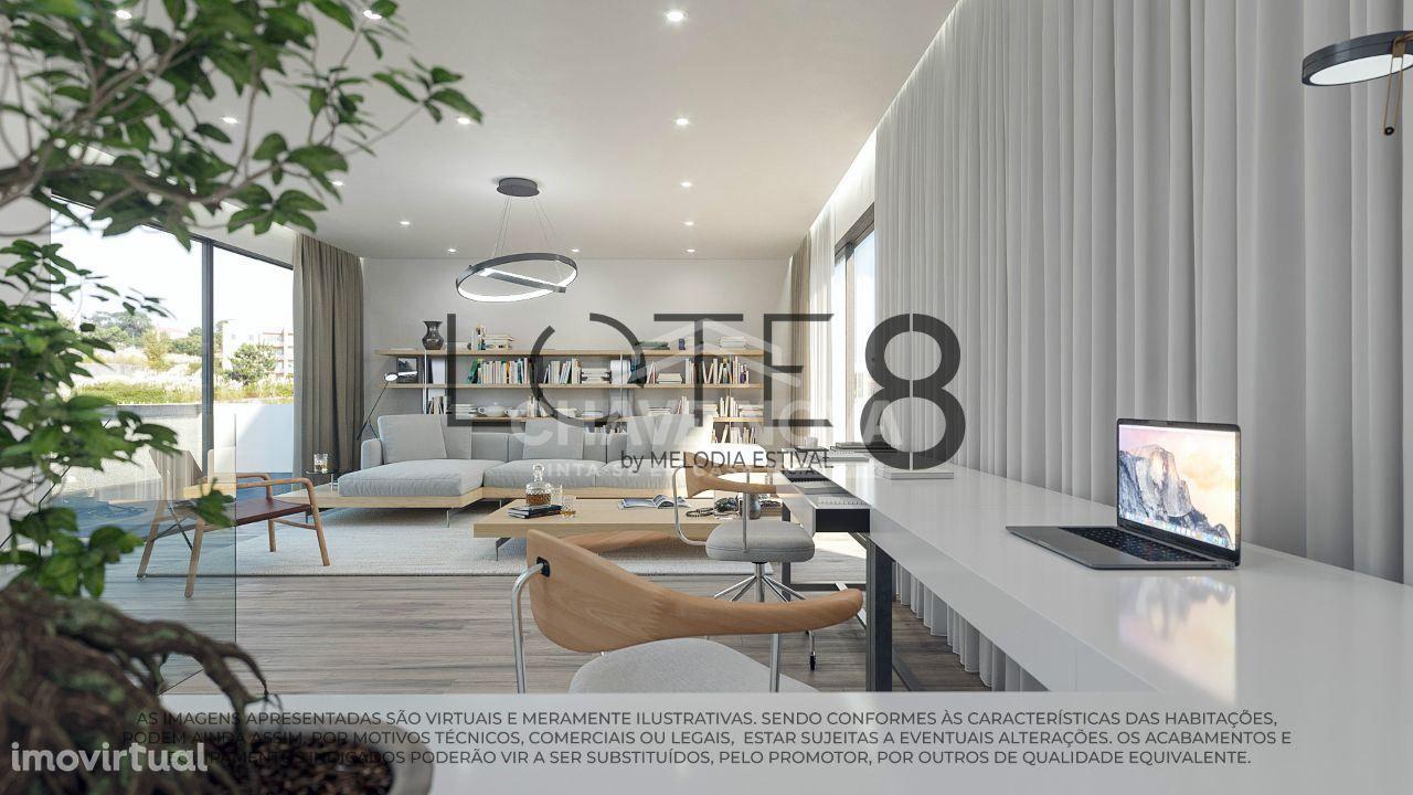 Moradia T3, venda Nova Piscina Madalena, próximo às Praias