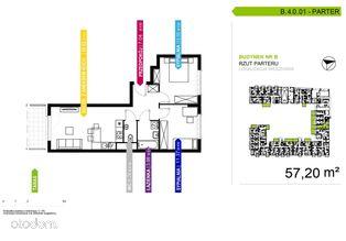 3 pokojowe mieszkanie B.4.0.01