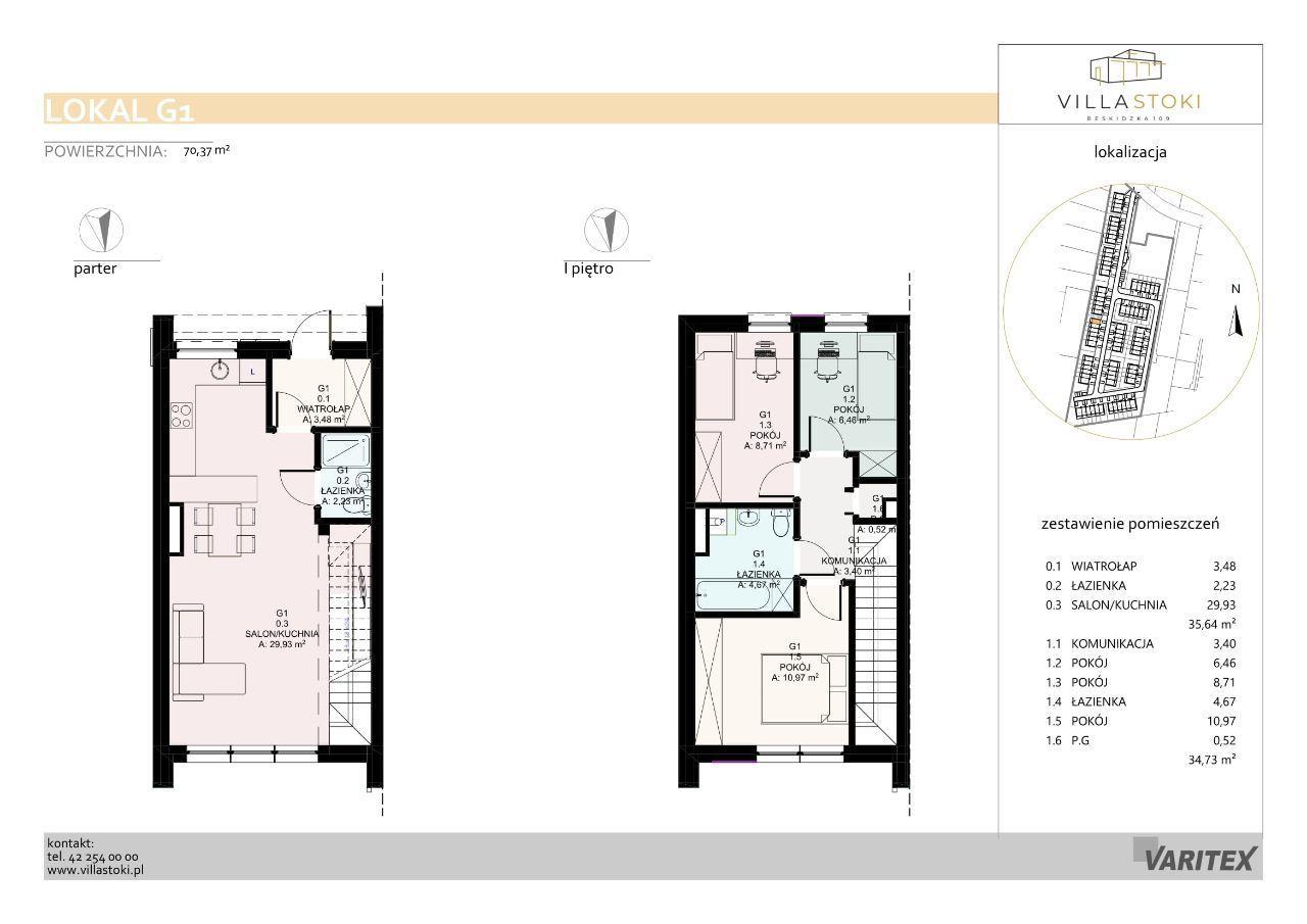 Dom typu 75 - Villa Stoki (dom G.01)